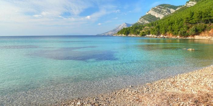 Panasonic Lumix GF7 Review |A beach in Zuljana, Peljesac