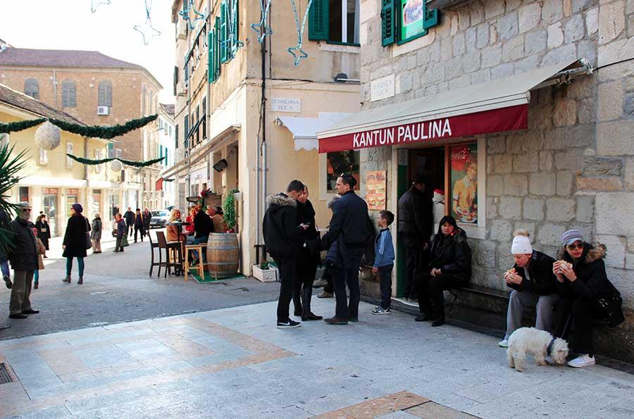 Kantun Paulina, the best cevapi in Split