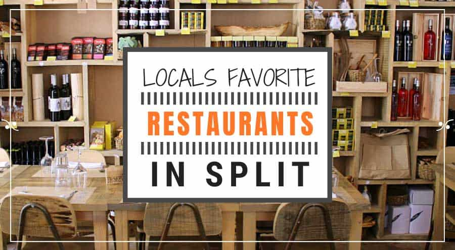 Where To East In Split | Locals Favorite Split restaurants