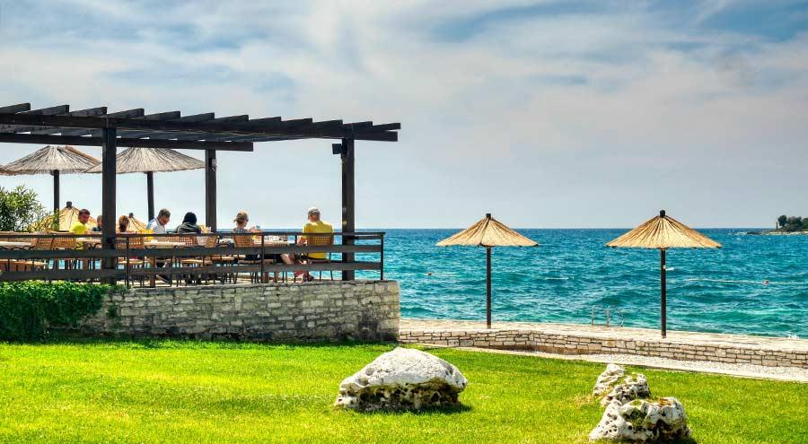 Porec Beaches: Zelena Laguna
