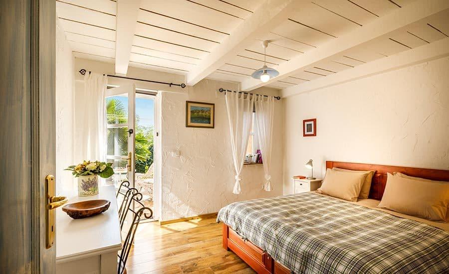 Villa in Istria | Villa Rupeni Istria: Ground Floor Bedroom 1