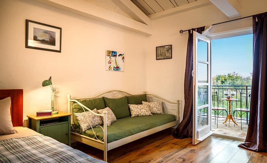 Villa in Istria | Villa Rupeni: First Floor Bedroom 3