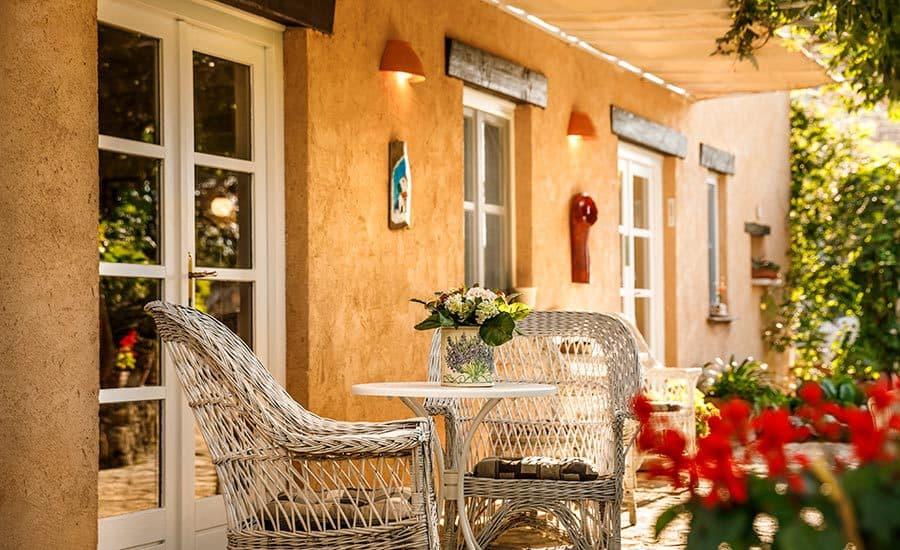 Villa in Istria | Villa Rupeni: Front Porch