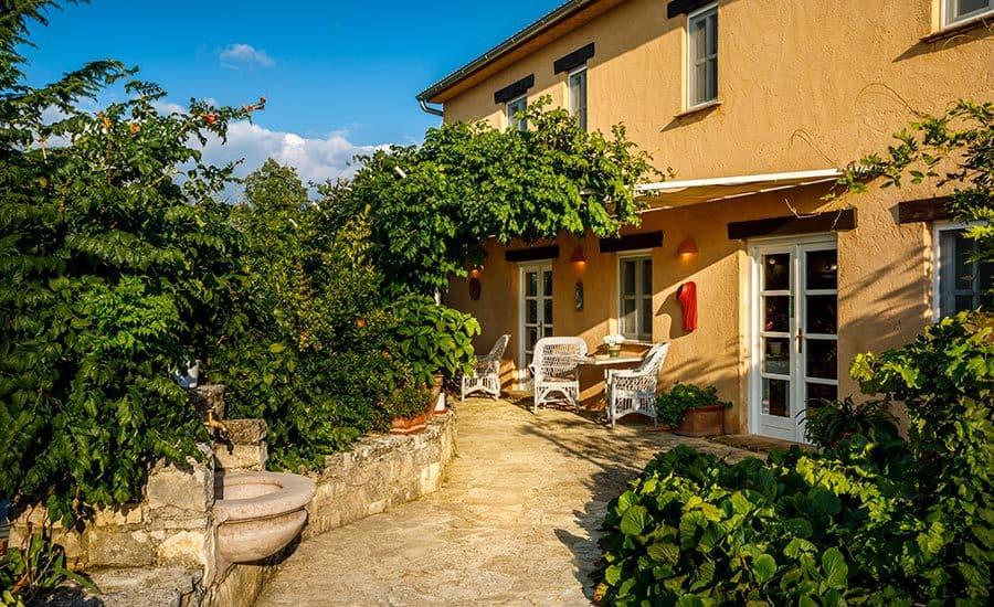 Villa in Istria | Villa Rupeni: Entrance