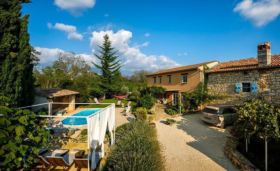 Villa in Istria | Villa Rupeni: Grounds