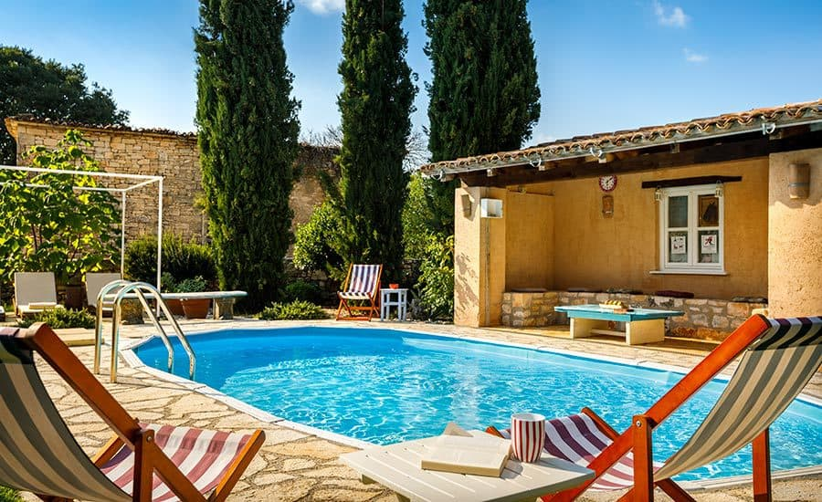 Villa in Istria | Villa Rupeni: Swimming Pool