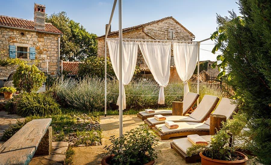 Villa in Istria | Villa Rupeni: Sun Tanning Deck