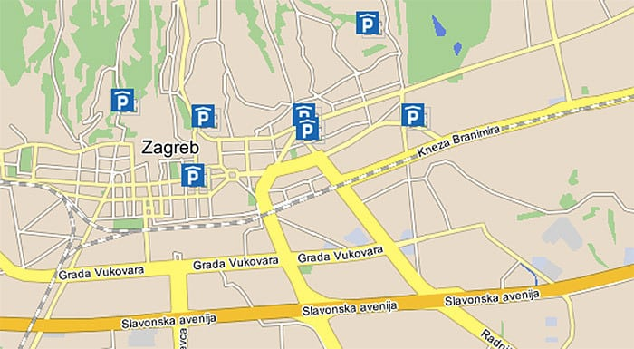 Car Rental Zagreb Croatia | Zagreb Parking: Public Garages