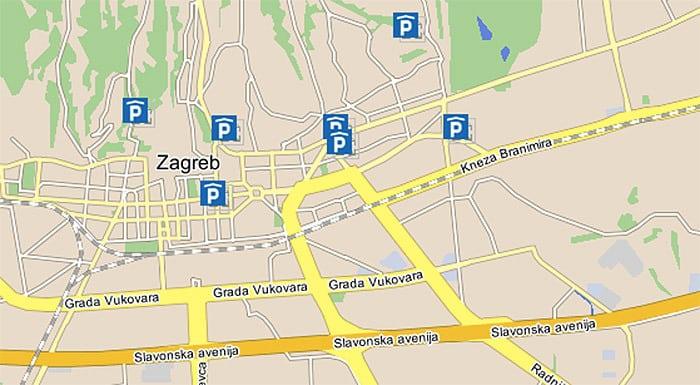 Car Rental Zagreb Croatia | Zagreb Parking: Public Garages