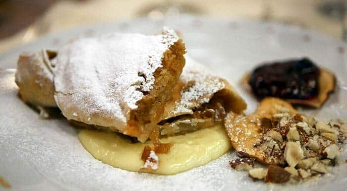 Croatia Desserts | Apple Strudel