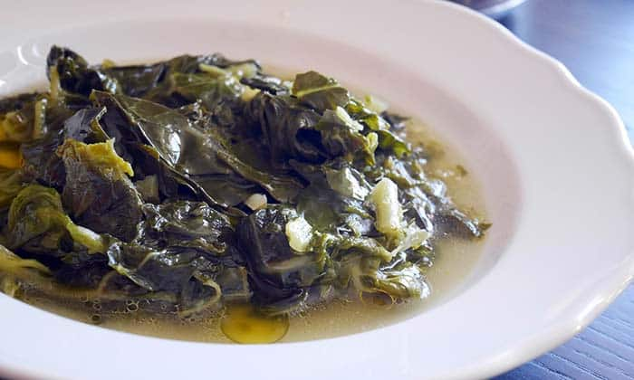 Croatian Food | Rastika, collard greens stew