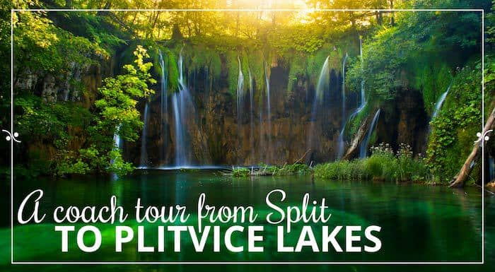 A small group tour from Split to Plivice Lakes