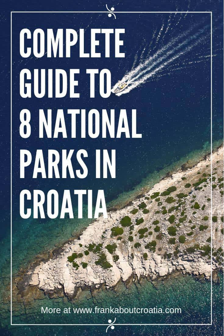 National parks in Croatia