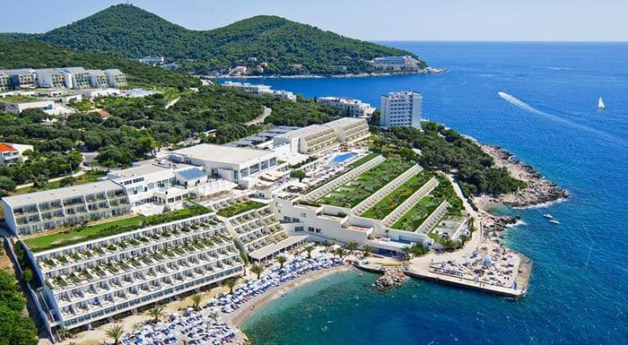 Valamar Collection Dubrovnik President Hotel, air view