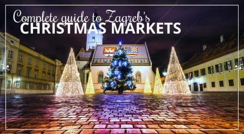 Zagreb Christmas Market|Advent In Zagreb