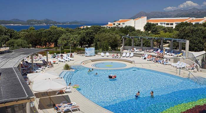 Hotel Tirena Sunny By Valamar, outdoor pool