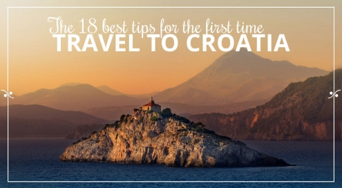 Tips For First Time Travel To Croatia, Ilustration