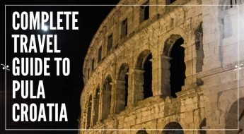 Pula Croatia Travel Guide | Pula's amphitheatre at night