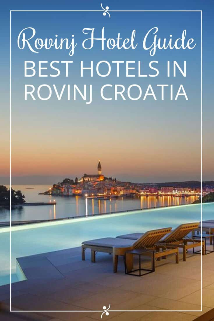 Rovinj Hotel Guide Pin