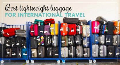 Best lightweight luggage for Europe 2021