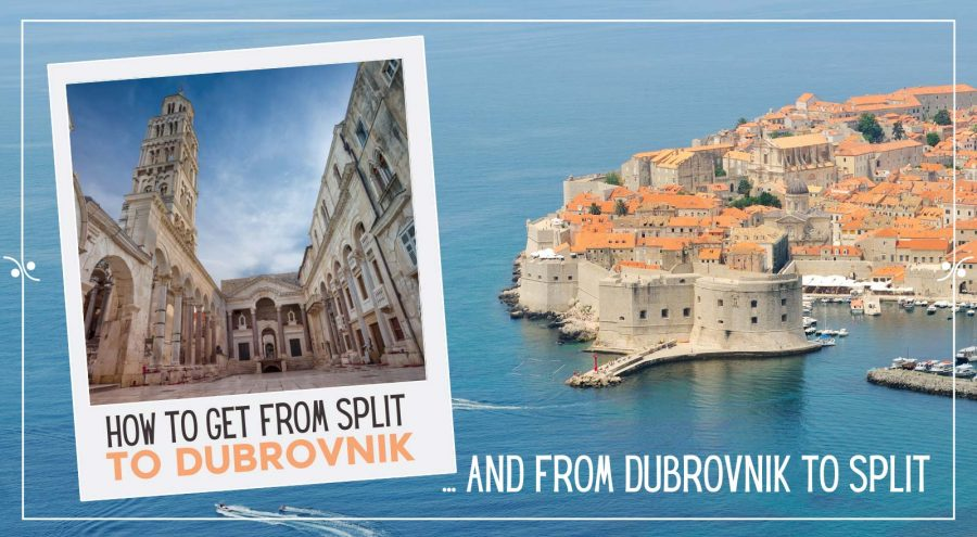 How to get from Split to Dubrovnik and from Dubrovnik to Split, Illustration