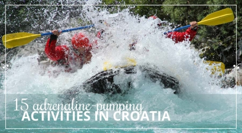 Outdoor activities in Croatia, Illustration