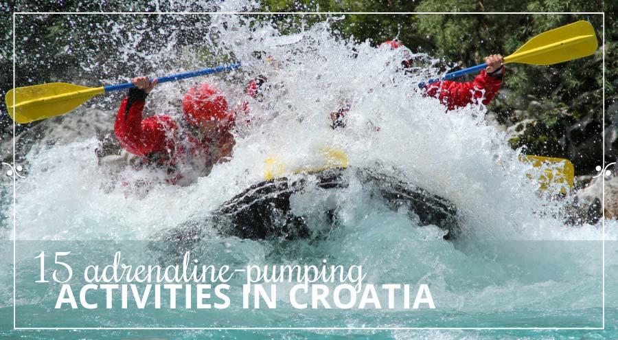 Outdoor activities in Croatia, Illustration