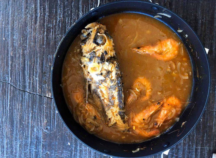Brudet, a fish stew found in Croatia