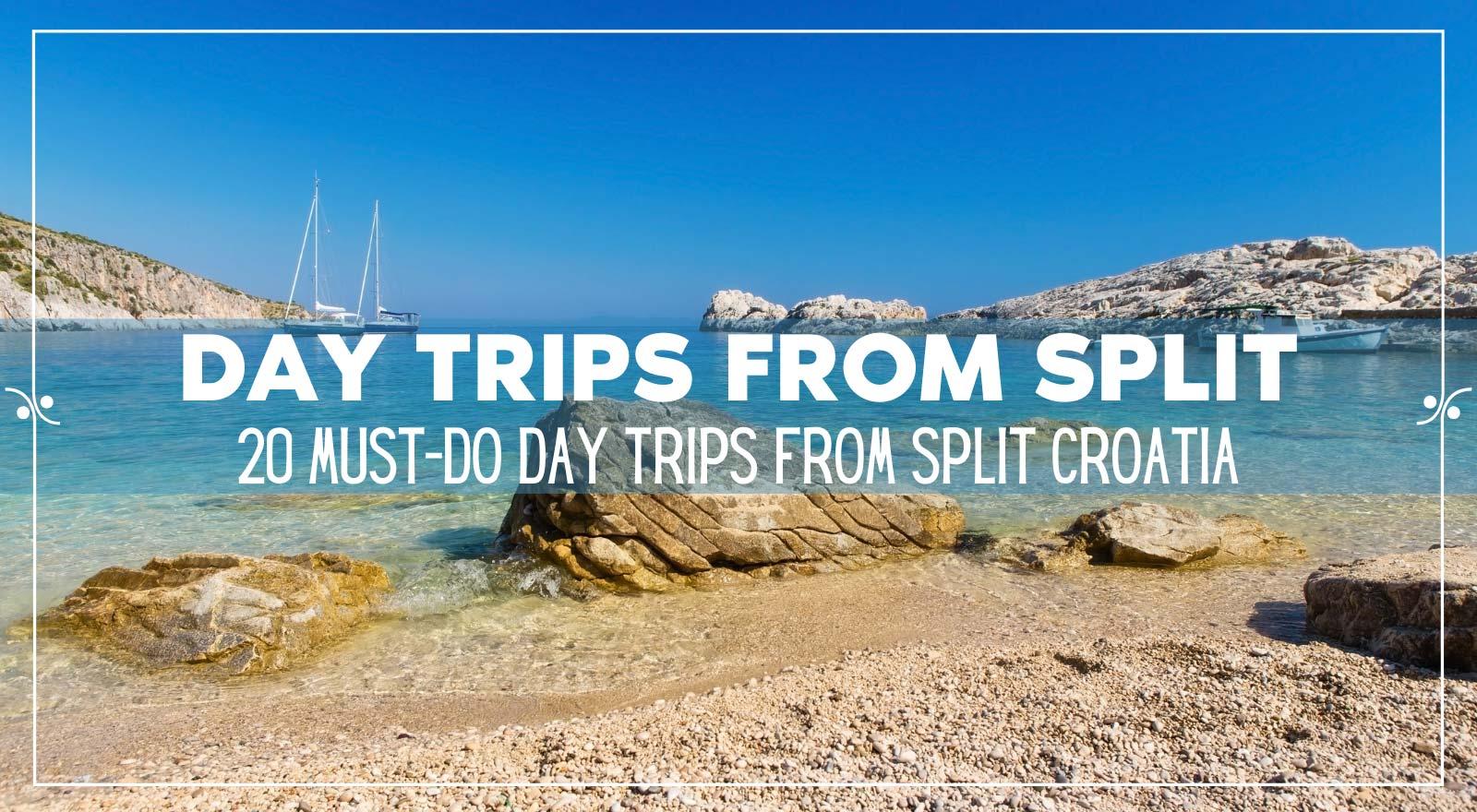 Day Trips From Split, Illustration