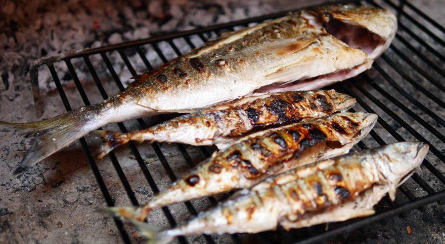 Food in Croatia, Grilled fish, gradela