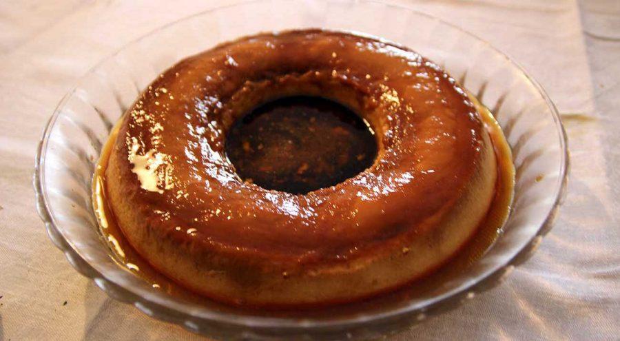 Rozata, custard typical for Dubrovnik region