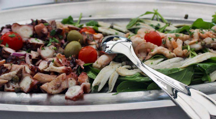Octopus Salad is a popular food in Croatia