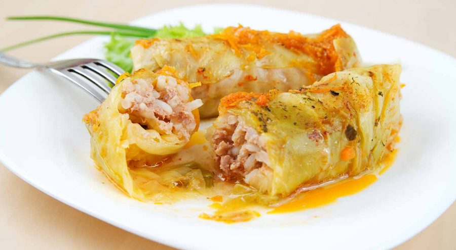 Sarma is one of most popular winter dishes in Croatia