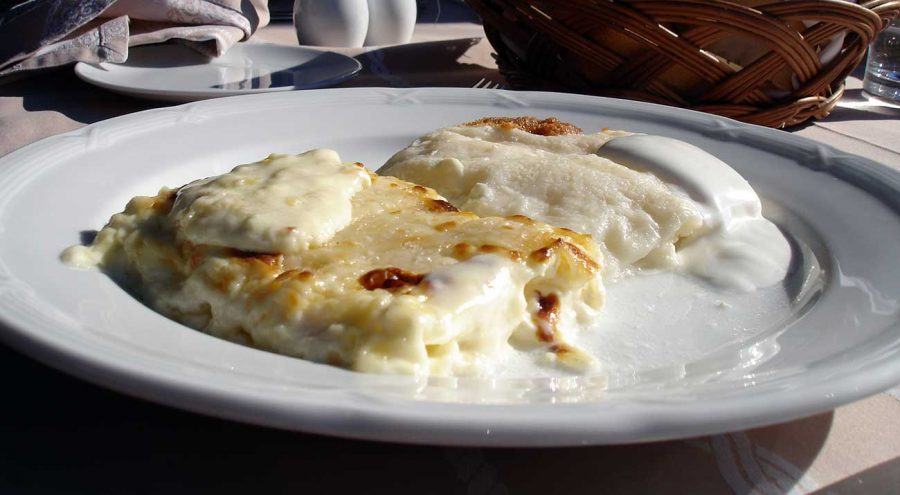 Zagorski Strukli, a cheese-filled pastry from Croatia