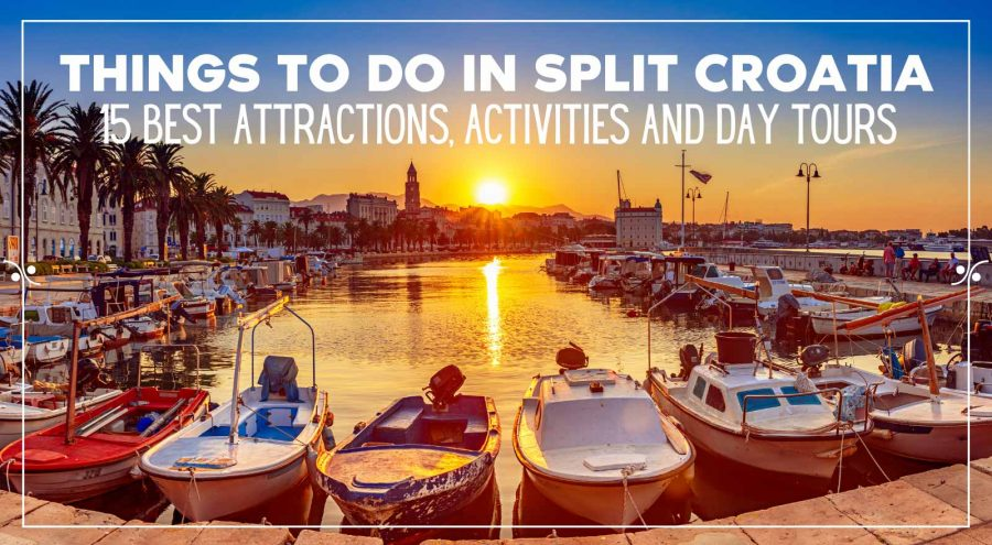 The 15 top things to do in Split Croatia, Illustration