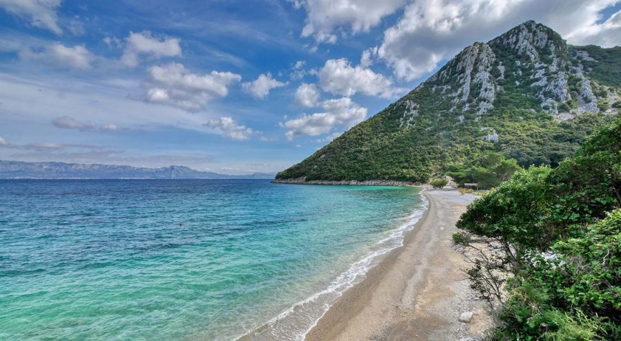 Пляж Дивна, полуостров Пелешац Курорты в Хорватии