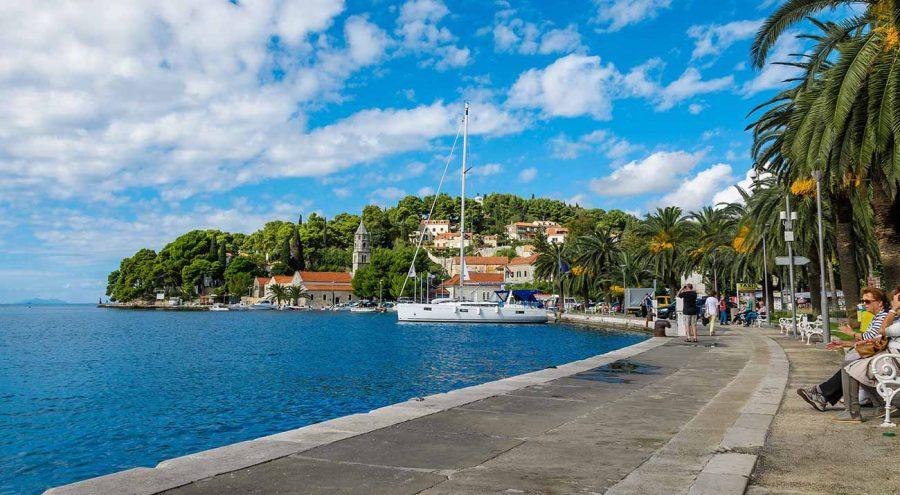 Набережная Цавтата Курорты в Хорватии
