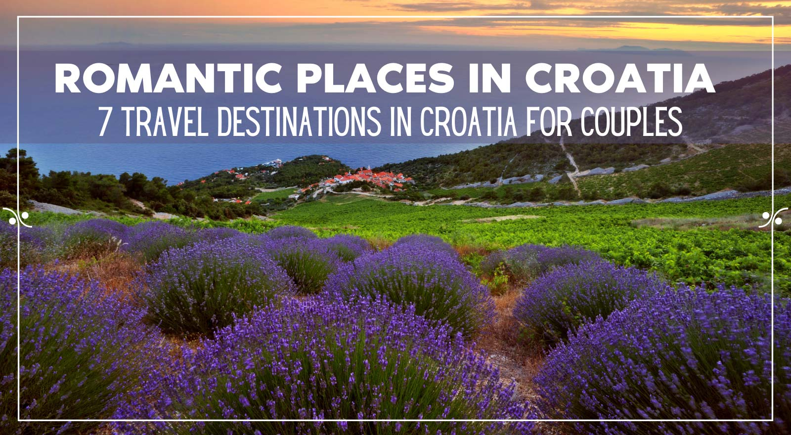 Best places in Croatia for couples, Illustration