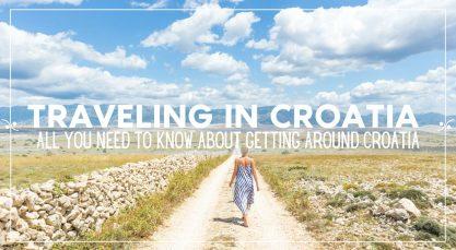 Getting around Croatia