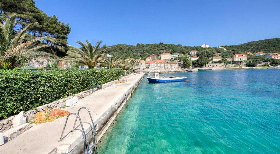 Элафитские острова недалеко от Дубровника