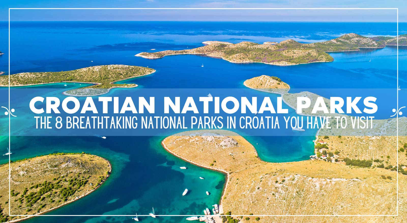 Our Guide to Croatian national parks, Illustration