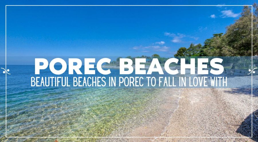 The Best Porec Beaches, Illustration
