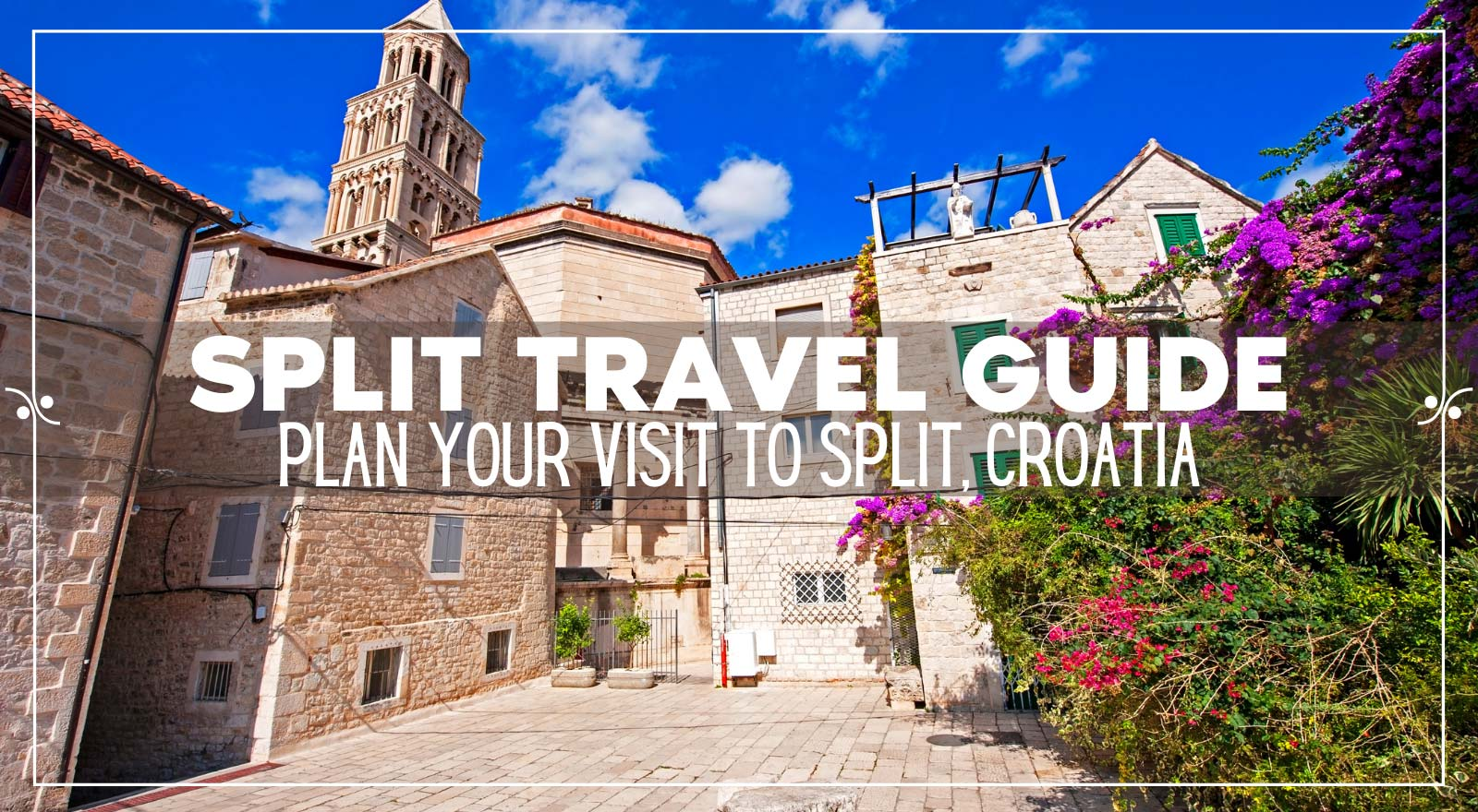 A complete travel guide to Split Croatia, Illustration