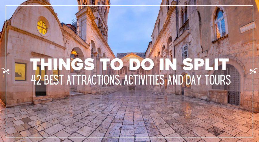 Things To Do in Split Croatia, Illustration