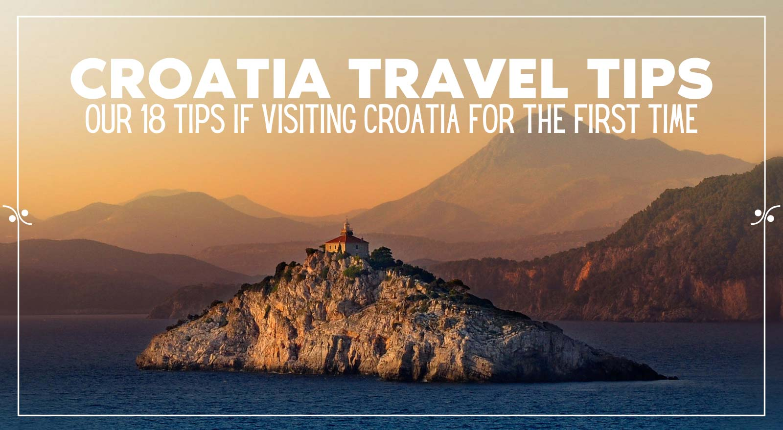 Tips For First Time Travel To Croatia, Illustration