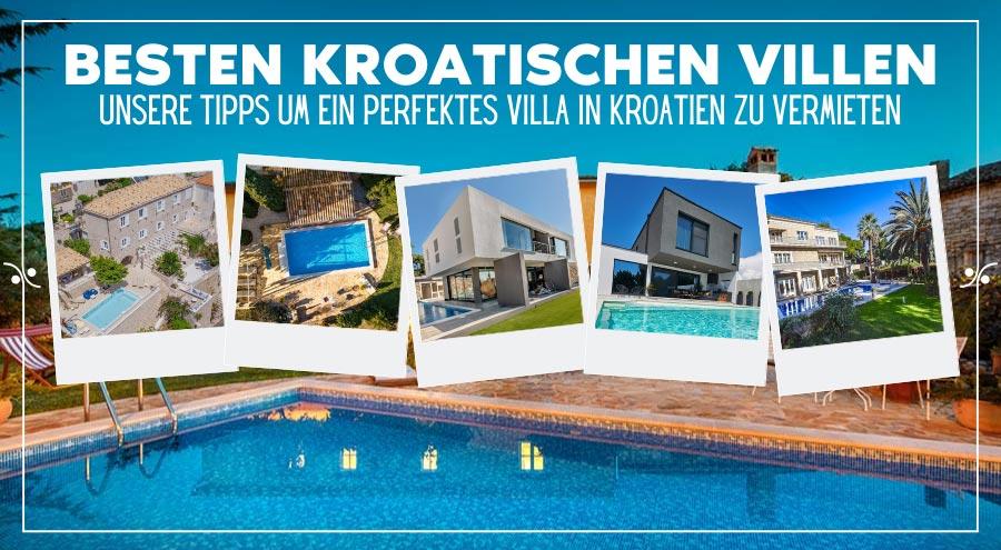 Villa Kroatien: So finden Sie die besten Villen in Kroatien für Ihren Urlaub, Illustration