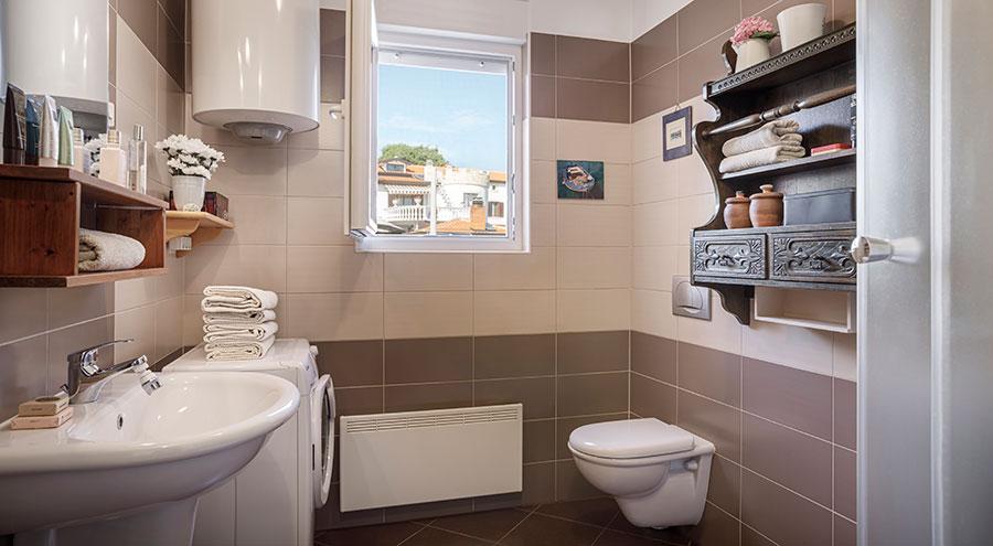 Bathroom, Frank's place Porec