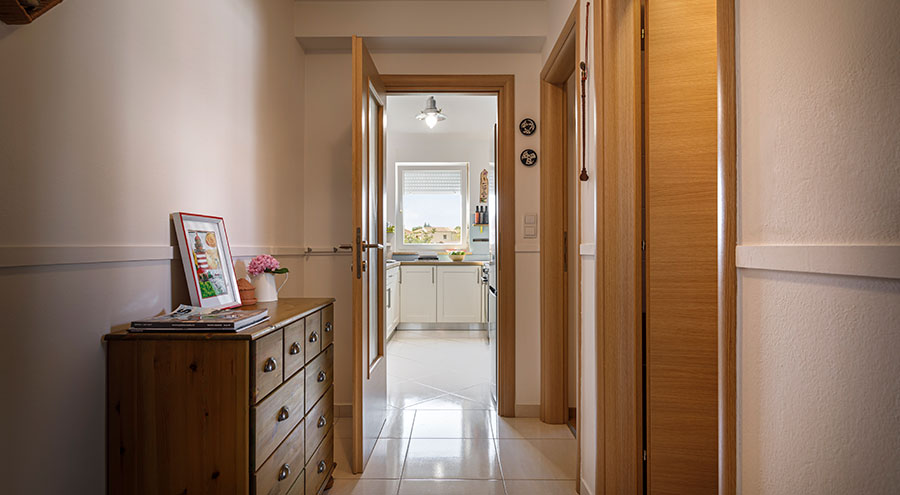 Hallway, Frank's place Porec