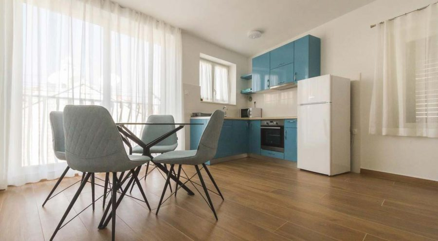 Apartments Gajeta in Split, Kitchen and dining area