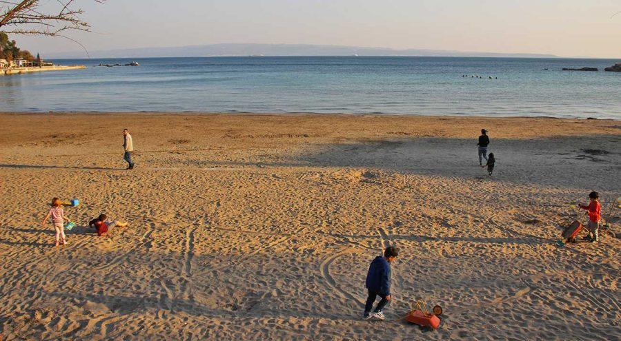 Bavcice Beach in Split